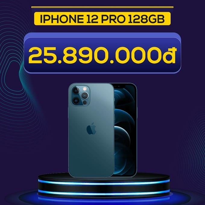 iPhone 12 Pro 128GB (VN/A) giảm thêm 5.140.000đ, chỉ còn 25.890.000đ