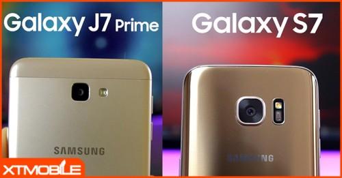 Khi cùng mức giá - Galaxy S7 cạnh tranh trực tiếp với Galaxy J7 Prime