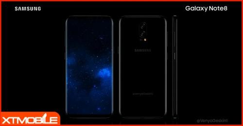 """Bản tin cuối ngày 07/08: Samsung Galaxy Note 8 và iPhone 8 lộ diện phiên bản """"bằng xương bằng thịt"""""""