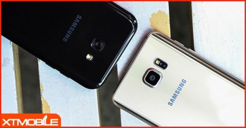 Chọn Galaxy A7 2017 hay Galaxy Note 5 ở mức hơn 6 triệu?