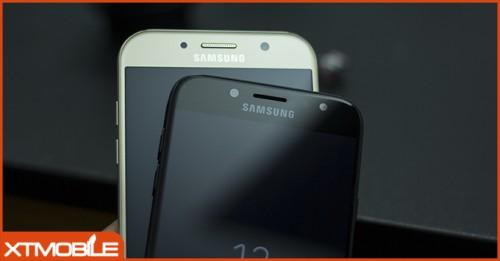 Mua Galaxy A7 2017 công ty chống nước hay J7 Pro camera f/1.7?