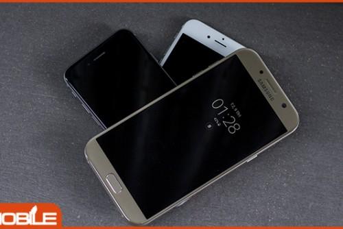 Galaxy A7 2017 công ty giá 6 triệu có những đối thủ nào xứng tầm?