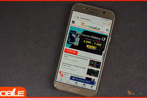 Smartphone bán chạy nhất tuần, gọi tên A7 2017 công ty giá 6 triệu
