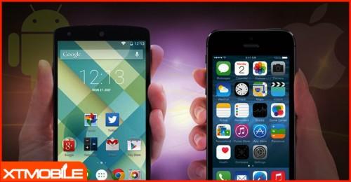 Tầm 4-6 triệu, iOS và Android đối đầu mạnh mẽ