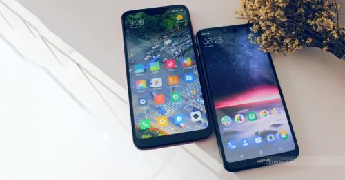 So sánh cấu hình Redmi 6 Pro và Nokia X6: Liệu có cân tài cân sức