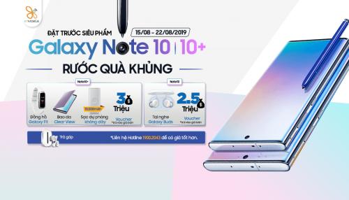 Đặt trước Galaxy Note 10   Note 10+: Rước ngay bộ quà hơn 6 triệu