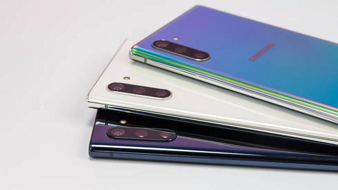 Galaxy Note 10 đã được nâng cấp lên đến 3 camera