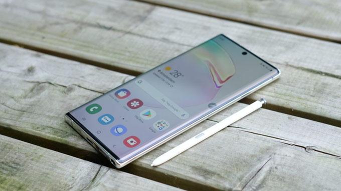 Samsung Galaxy Note 10 Plus 5G sở hữu thiết kế kim loại nguyên khối cao cấp