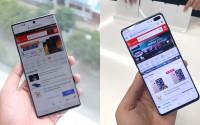 So sánh Galaxy Note 10 Plus và S10 Plus: Ngôi vương mới thiết lập