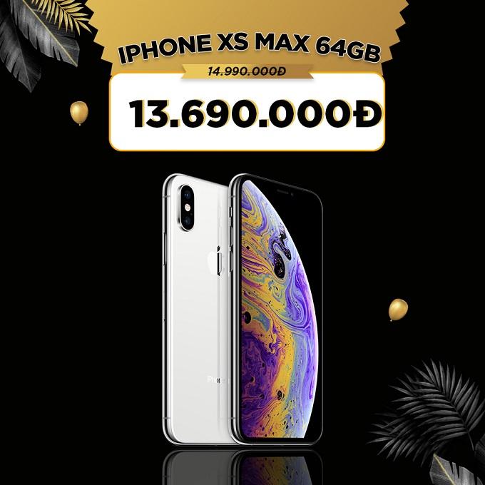 iPhone Xs Max giá cực tốt chỉ 13,5 triệu