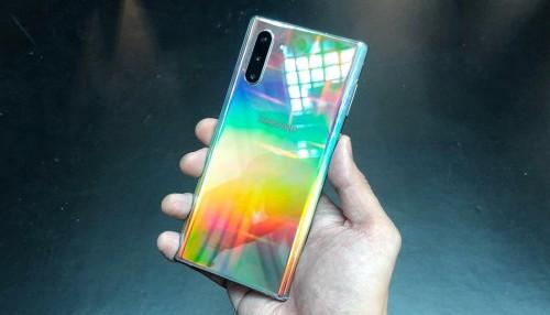 Khám phá Galaxy Note 10 Ánh cực quang đang gây sốt