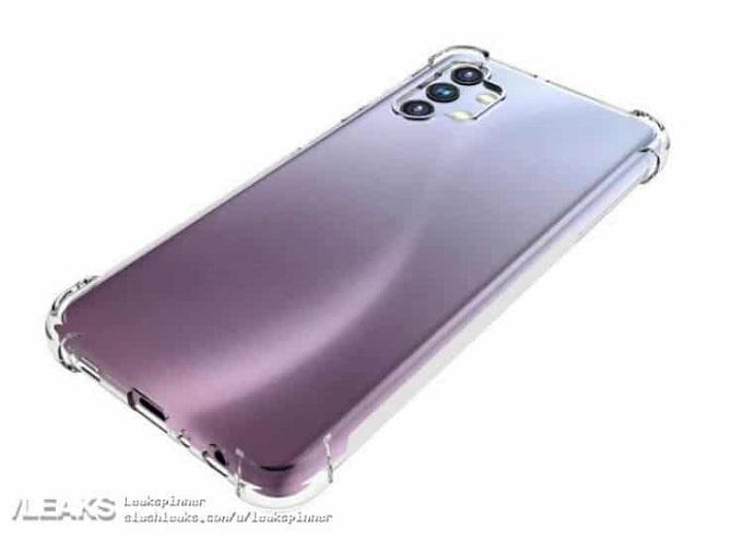 Ảnh render Galaxy A32