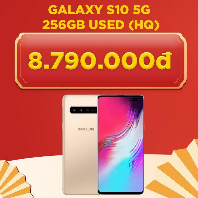 Galaxy S10 5G 256GB giá chỉ 8.7 triệu đồng