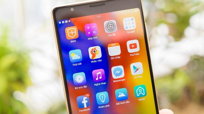 Bphone cần được cập nhật thêm những phiên bản Android mới hơn