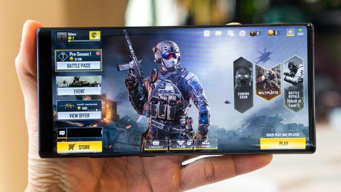 Cấu hình Galaxy Note 10 Plus 256GB được cung cấp sức mạnh từ chip xử lý Exynos 9825