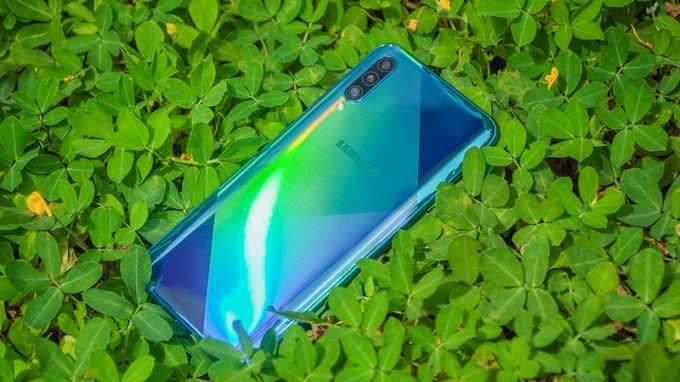 Samsung Galaxy A50s được trang bị bộ vi xử lý Exynos 9610