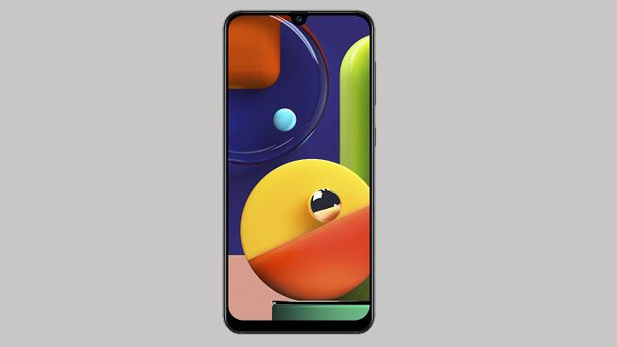 Samsung Galaxy A50s được trang bị màn hình Infinity-U tràn viền có kích thước lớn 6.4 inch