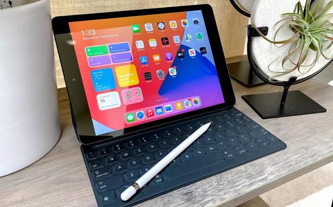 iPad OS 14 hoạt động rất tốt trên iPad Gen 8