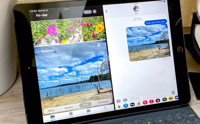 Chip A12 Bionic mang lại sự nâng cấp hiệu năng cho iPad Gen 8
