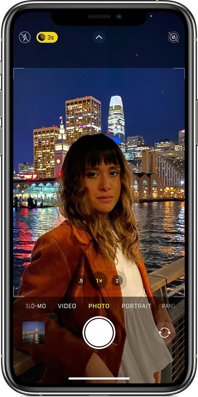 tính năng này cho khả năng tăng sáng tốt hơn mà còn cho phép iPhone 12 Pro và 12 Pro Max chụp chân dung thiếu sáng.