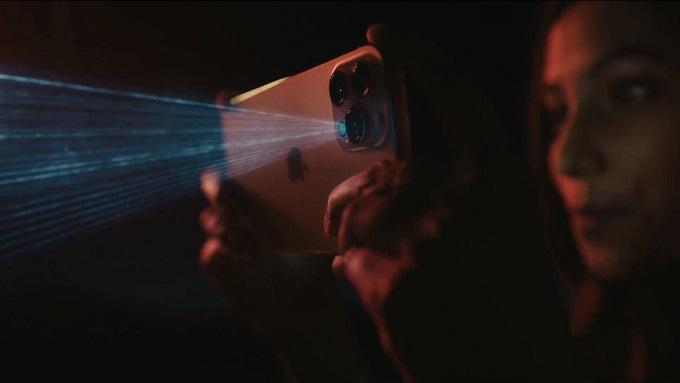 máy quét Lidar đặt ở góc dưới bên phải cụm camera