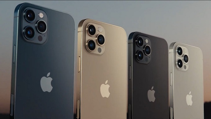 Apple ra mắt dòng iPhone 12 Pro của mình với 4 phiên bản màu