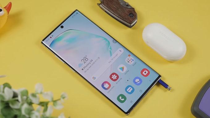 Màn hình Galaxy Note 10 Plus 256GB được đánh giá rất cao