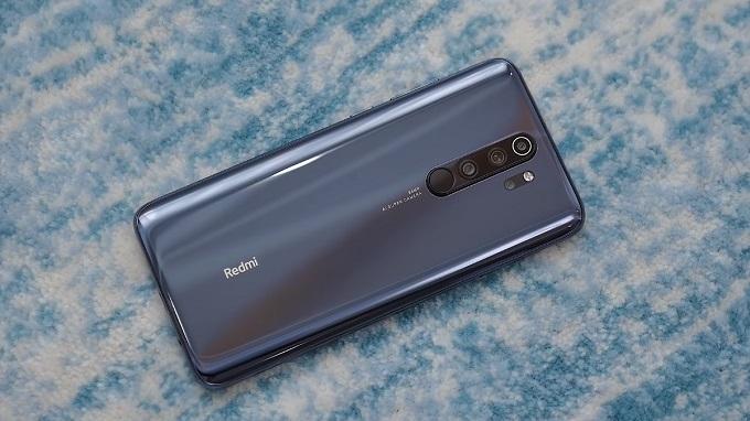 Redmi Note 8 Pro có thiết kế mặt lưng bóng bẩy
