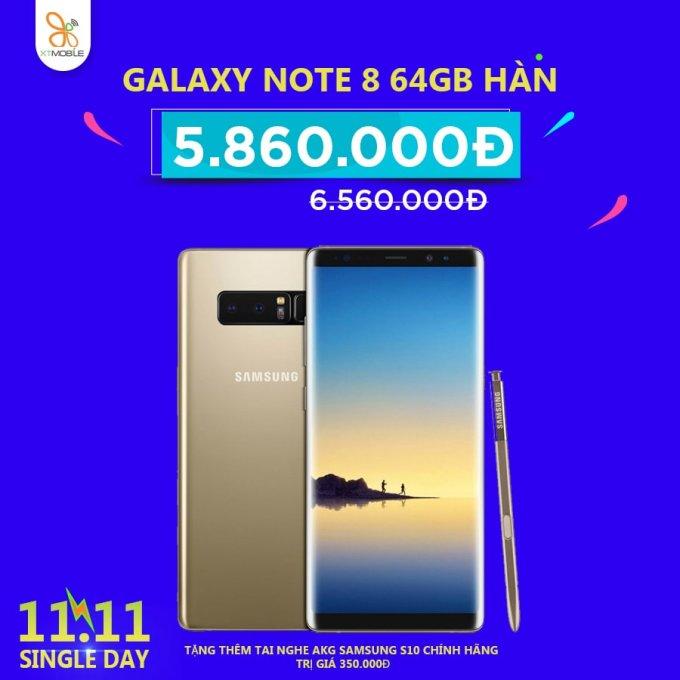 Galaxy Note 8 64GB Hàn cũ