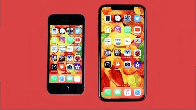iPhone SE 2020 ngắn và mỏng hơn so với iPhone XR