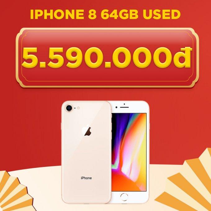 iPhone 8 64GB giá chỉ 5.5 triệu đồng