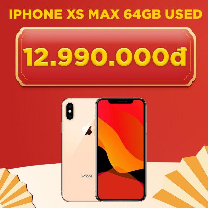 iPhone Xs Max 64GB giá chỉ 12.9 triệu đồng