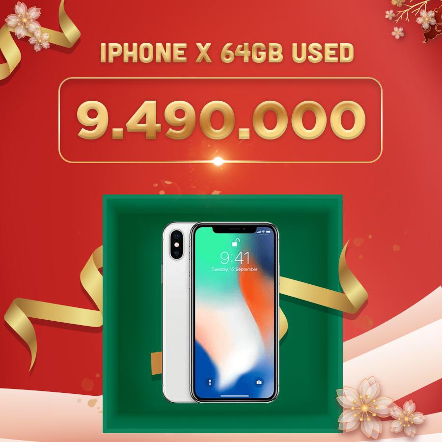 iPhone X 64GB giá chỉ 9.4 triệu đồng