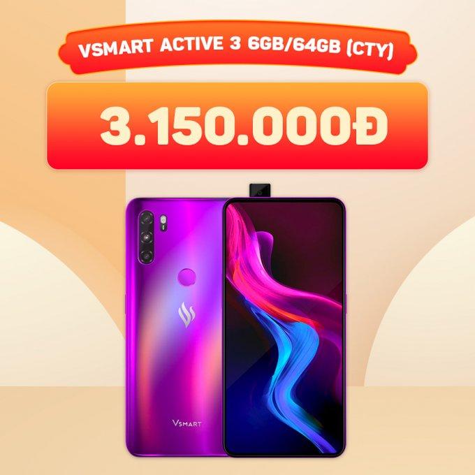 Vsmart Active 3 giá chỉ 3,1 triệu đồng