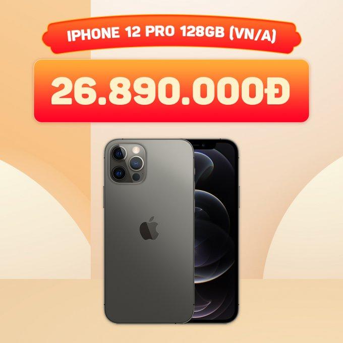 iPhone 12 Pro 128GB giá chỉ 26.8 triệu đồng