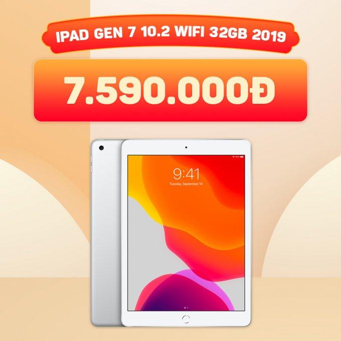 iPad Gen 7 32GB giá chỉ 7,5 triệu đồng