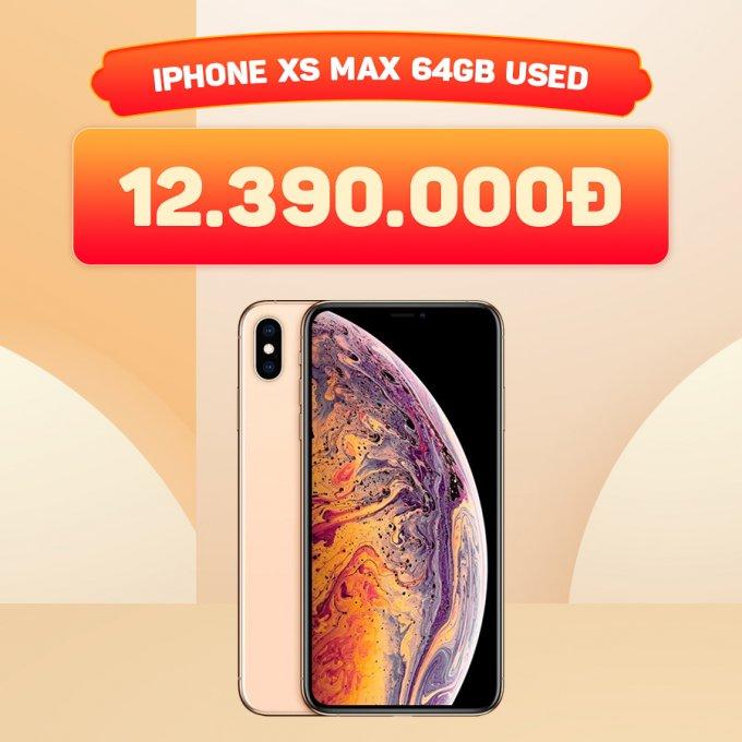iPhone Xs Max 64Gb giá chỉ 12.3 triệu đồng