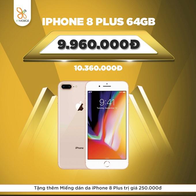 iPhone 8 Plus cũ quốc tế tổng ưu đãi 750.000đ