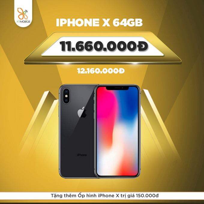 iPhone X cũ quốc tế ưu đãi 750.000đ