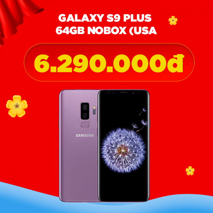 Galaxy S9 Plus 64GB (Nobox)