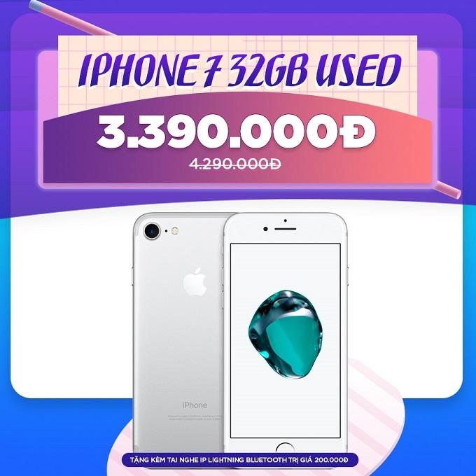 iPhone 7 giá cực tốt chỉ từ 3,2 triệu
