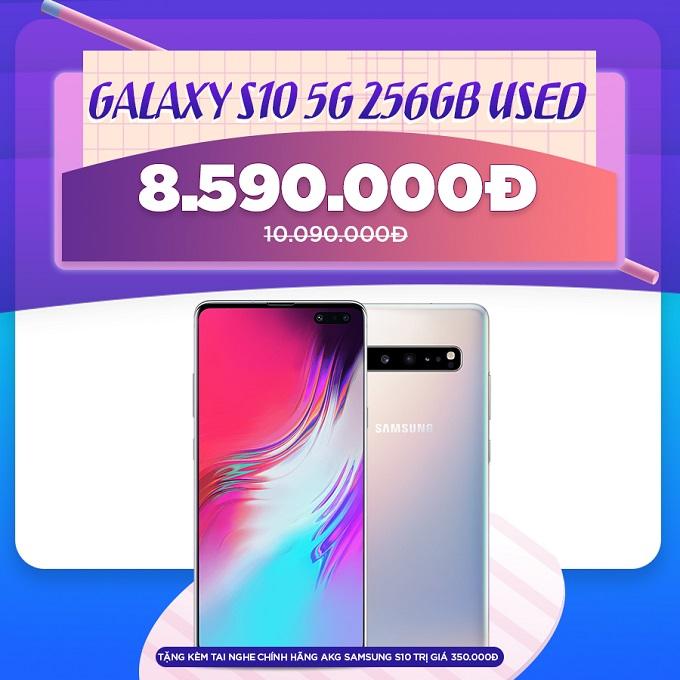 Samsung Galaxy S10 5G ưu đãi đến 900.000đ