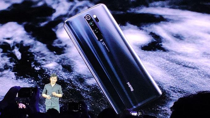 Thiết kế Redmi Note 8 Pro