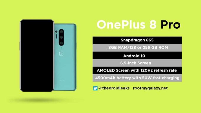Thông số OnePlus 8 Pro