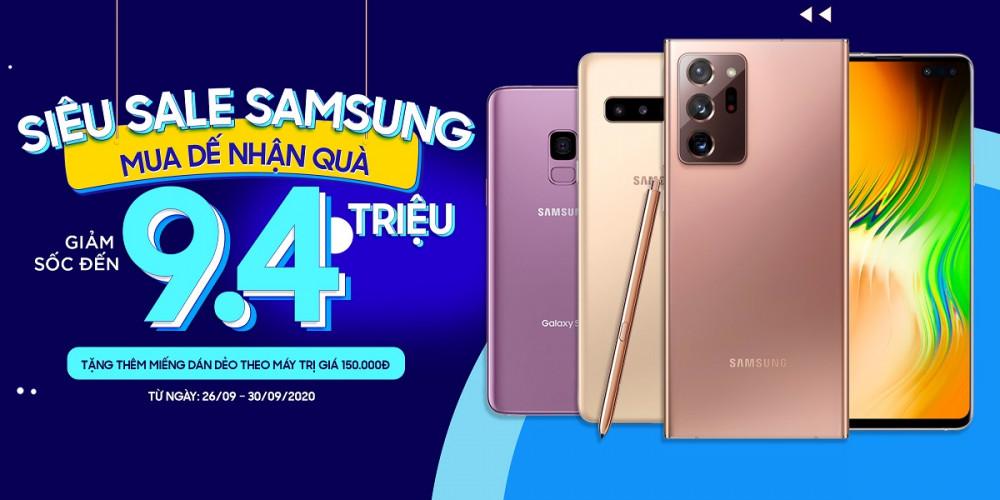 Siêu sale Samsung - Mua dế nhận quà: Galaxy Note 20 Ultra giảm giá cực khủng lên đến 9.4 triệu đồng