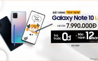 Mua Galaxy Note 10 Lite 128GB giá giảm đến 3.5 triệu chỉ còn 7.9 triệu, chỉ ưu tiên cho khách hàng đã đặt trước