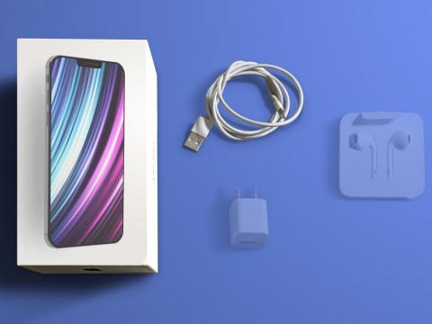 iPhone 12 sẽ được bán kèm với cáp sạc mà không có adapter và tai nghe Earpods cổng lightning trong hộp