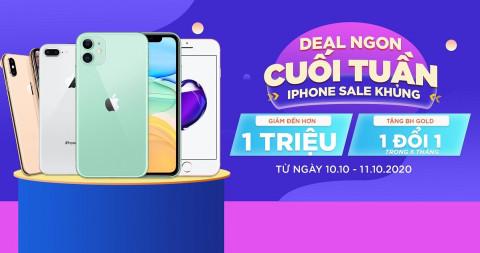 Deal ngon cuối tuần - iPhone sale khủng: iPhone 11 giảm giá đến hơn 1 triệu đồng
