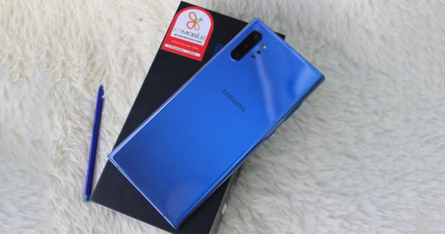 Trên tay Galaxy Note 10 Plus 5G Aura Blue chỉ từ 19 triệu, đẹp xuất sắc