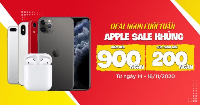 Deal ngon cuối tuần - Apple sale khủng: iPhone 11 Pro giảm cực sốc, giá chỉ từ 16,9 triệu đồng